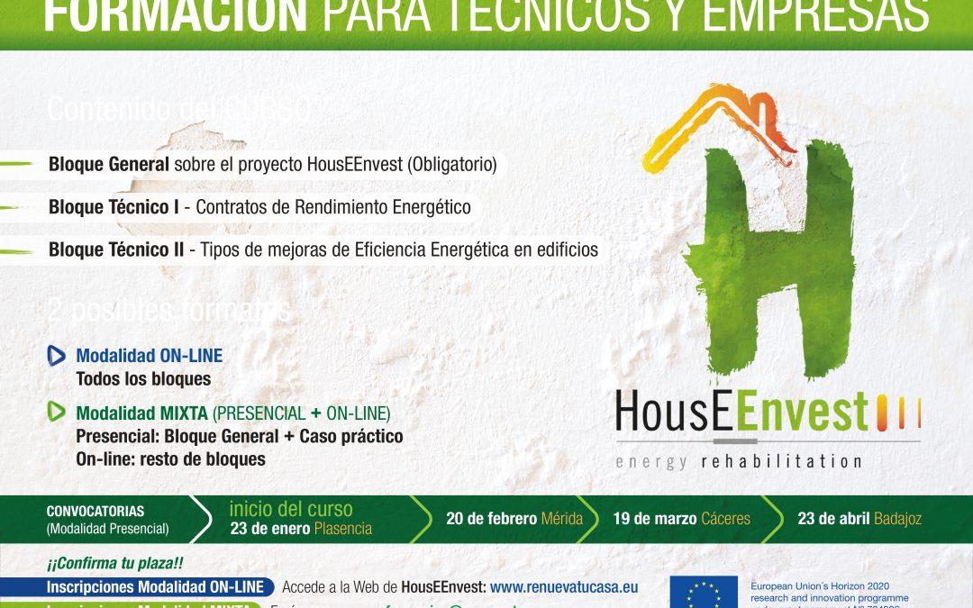Sign up for the HousEEnvest training program