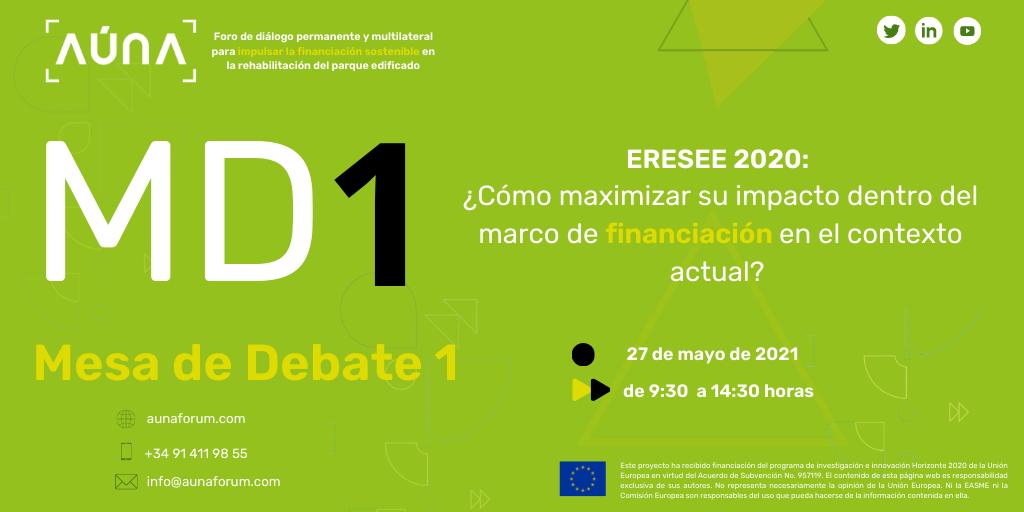El proyecto AÚNA organiza una Mesa de debate sobre la ERESEE 2020